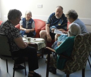 Coffee morning at Seion