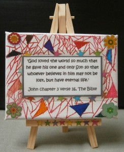 JOHN 3:16 CRAFT