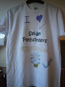 T-SHIRT CRAFT AT PATHFINDERS